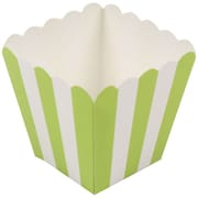 JAM Paper® Popcorn Boxes, Lime Green, 10/pack (347027074)