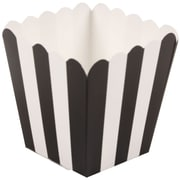 JAM Paper® Popcorn Boxes, Black, 10/pack (347027076)