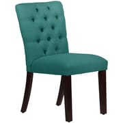 Skyline Furniture Mfg Tufted Chair in Linen Laguna (68-6LNNLGN)