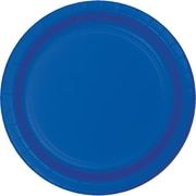 Touch of Color Cobalt Blue Paper Plates, 24 pk (473147B)