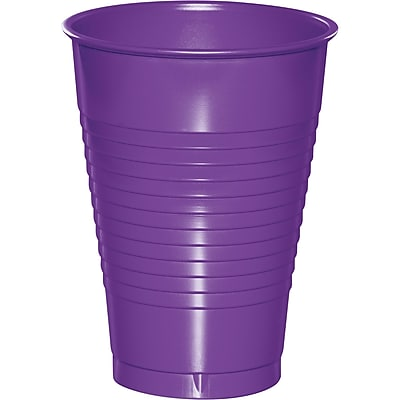 Touch of Color Amethyst Purple 12 oz Plastic Cups, 20 pk (318921) 2634450