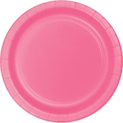 Touch of Color Candy Pink Paper Plates, 24 pk (473042B)