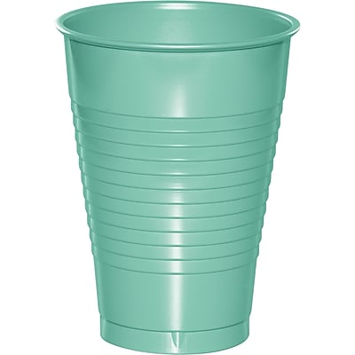 Touch of Color Fresh Mint Green 12 oz Plastic Cups, 20 pk (318882) 2634452