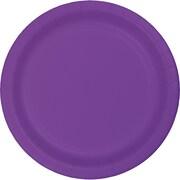Touch of Color Amethyst Purple Plastic Dessert Plates, 20 pk (318916)