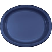Touch of Color Navy Blue Oval Plates, 8 pk (433278)