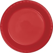 Touch of Color Classic Red Plastic Plates, 20 pk (28103121)