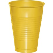 Touch of Color School Bus Yellow 12 oz Plastic Cups, 20 pk (28102171)