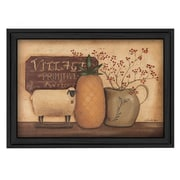 """TrendyDecor4U Country Necessities    16""""x12"""" Framed Print (BR140-405)"""