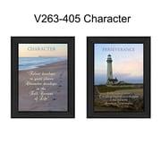 "TrendyDecor4U Character -2""x10""x14"" Framed Print (V263-405)"