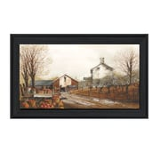 "TrendyDecor4U Autumn's Bounty -30""x16"" Framed Print (JR22-405)"