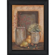 """TrendyDecor4U Country Collection-12""""x18"""" Framed Print (BR125-405)"""