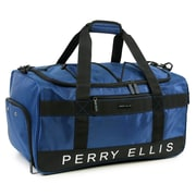 Perry Ellis Medium Weekender Travel Duffel Bag with Shoe Pocket (PE-SD-A222-NY)