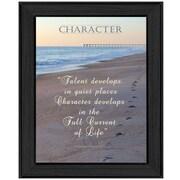 "TrendyDecor4U Character -12""x16"" Framed Print (ME13C-405)"