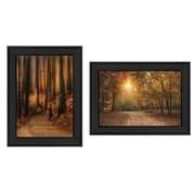 "TrendyDecor4U Autumn -1 - 12""x16"" Framed Print (V177-405)"