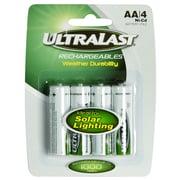 Ultralast® 1.2 V Ni-CD Solar Light Battery For Many Solar Lights (ULN4AASL)