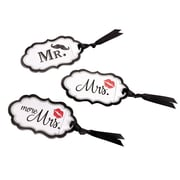 Lillian Rose Mustache & Red Lips Luggage Tags (TR642 MM)