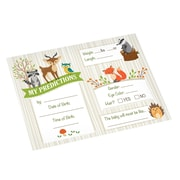 Lillian Rose Woodland Baby Shower Prediction Cards (24BS230 PC)