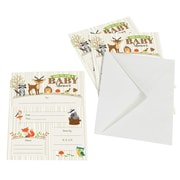 Lillian Rose Woodland Baby Shower Invitations - Set of 8 (24BS230 IN)