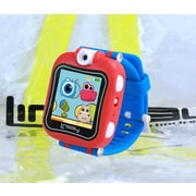 "LINSAY S5WCLBLUEBAG 1.5"" Smart Watch Kids Cam Selfie Blue and Bag Pack"