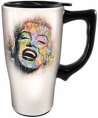 Spoontiques Dean Russo Marilyn Monroe Ceramic Travel Mug (12770) 2691229