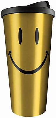 Spoontiques Smiley Face Stainless Travel Mug (20810) 2691338