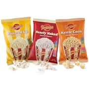 Popcornopolis Gourmet Popcorn Single Serving Variety Pack, 25 Ounce Box (DS1367)
