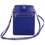 Vertical Crossbody Tablet Bag, Blue (TABLEA656)