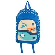 Elementary Kindergarden Kids Back to school bag Backpack, Boats (BKPLEA005)