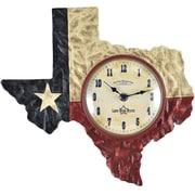"FirsTime® Texas Flag 13"" Wall Clock (40185)"