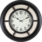 "FirsTime® Baxton Linen Oversized 23"" Wall Clock (99660)"