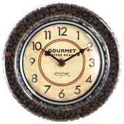 "FirsTime® Gourmet Cafe 7.5"" Wall Clock (215)"