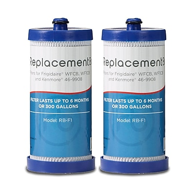 ReplacementBrand 2-Pack Refrigerator Filter for Frigidaire WFCB/WF1CB Refrigerator (RB-F1) 2662586