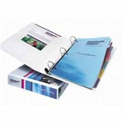 Avery Consumer Products EZD View Binder- Heavyduty- 1-.50in. Cap- White (SPRCH12959)