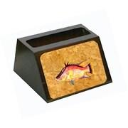 Carolines Treasures Hog Snapper On Gold Business Card Holder (CRlT80641)