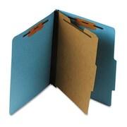 Esselte Pendaflex Pressboard Classification Folder, letter, Four-Section, Sky Blue (AZERTY12342)