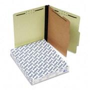 Esselte Pendaflex Pressboard Classification Folders ltr 4-Section lt Green 10/box (AZRESS1157G)