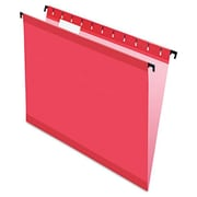 Pendaflex Poly laminate Hanging Folders, Red - letter Size (AZTY10930)