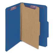 Smead Manufacturing Pressboard Classification Folders, Dark Blue (AZTY14383)