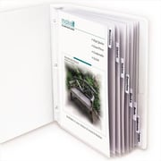 C-line Products Polypropylene Sheet Protector with Index Tabs Clear Tabs 11 x 8 .5 8-ST - Set of 3 ST (ClNP030)
