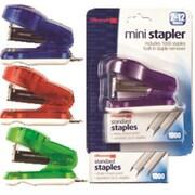 Officemate International Corp Plastic Stapler Mini-Kit 1x1.75x2.75 Asst (DGC13668)