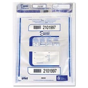 Accufax (Paper Mfr) Triple Protection Tamper-Evident Deposit Bags 9 x 12 Clear 100/Pack