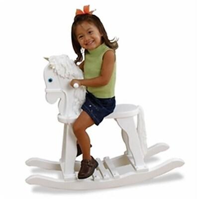 Kid Kraft Derby Rocking Horse - White (KK339) 2628923