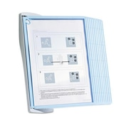 Durable Sherpa Sherpa Style Desk Reference System 20 Sheet Capacity Blue-Gray (AZERTY3063)