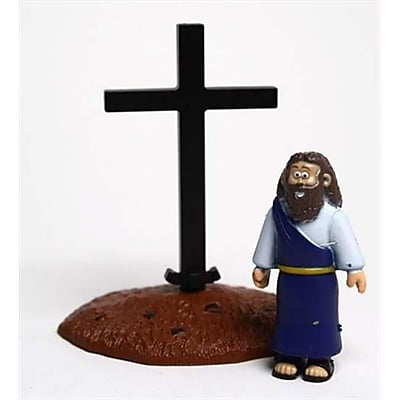 Renewing Minds Toy Action Figure Beginners Bible Jesus And Cross (ANCRD35773) 2635883
