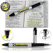 G T luscombe Write Brite Pen and Highlighter - Yellow (ANCRD436)