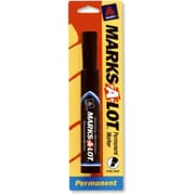Avery Products 17888 Regular Chisel Tip Permanent Marker, Black, Pack of 6 (TRVAl52963)