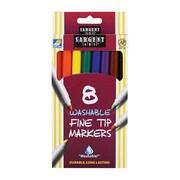 Sargent Art Inc. Sargent Art Washable Felt Super Tip Markers Fine Tip (EDRE42674)