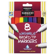Sargent Art Inc. Sargent Art Washable Felt Super Tip Markers Broad Tip (EDRE42673)