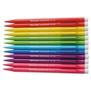 Papermate 0.7 mm. HB Sharpwriter Mechanical Pencil - Assorted Color Barrels (AZTY10732)