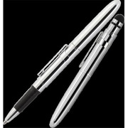 Fisher Space Bullet Grip Space Pen with Capacitive Stylus and Chrome Clip (FRSP074)